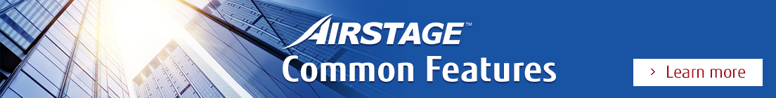 Airstage™ (VRF Systems) Common Features